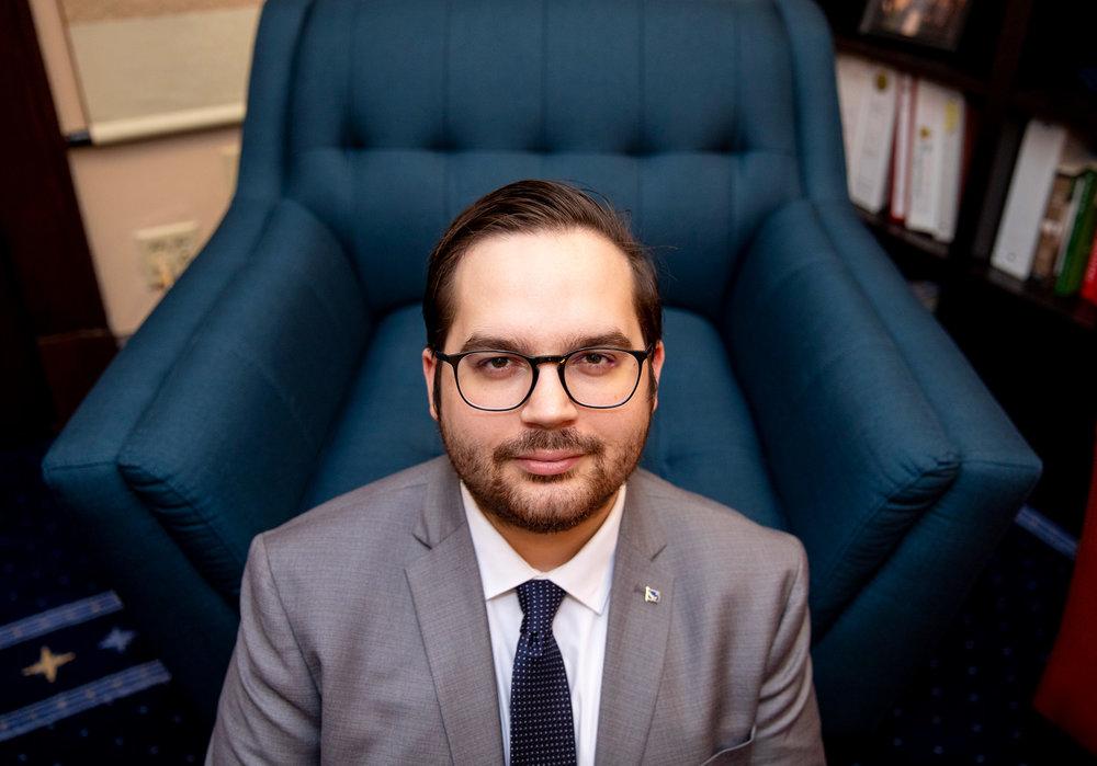 Chaz Rivas, Legislative Aide