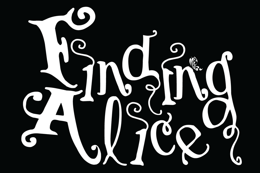 Finding Alice In Wonderland Logo