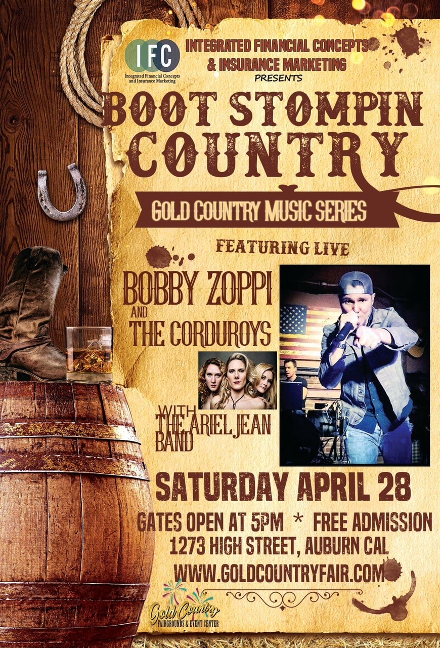 Gold Country Fair Grounds - April 28th 2018