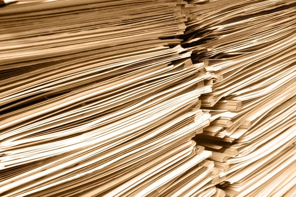 paper work file