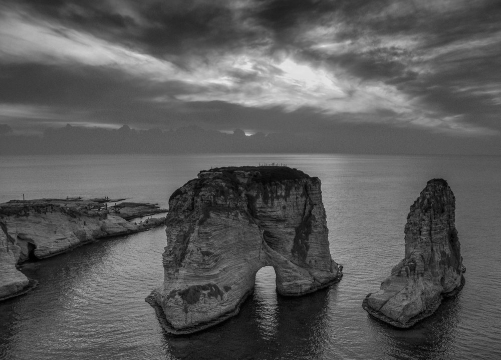 Raouche (Pigeons' Rock) - Beiruti, Lebanon