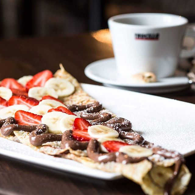 Nutella, Banana, Strawberry, Crepe... Go ahead, indulge yourself!
