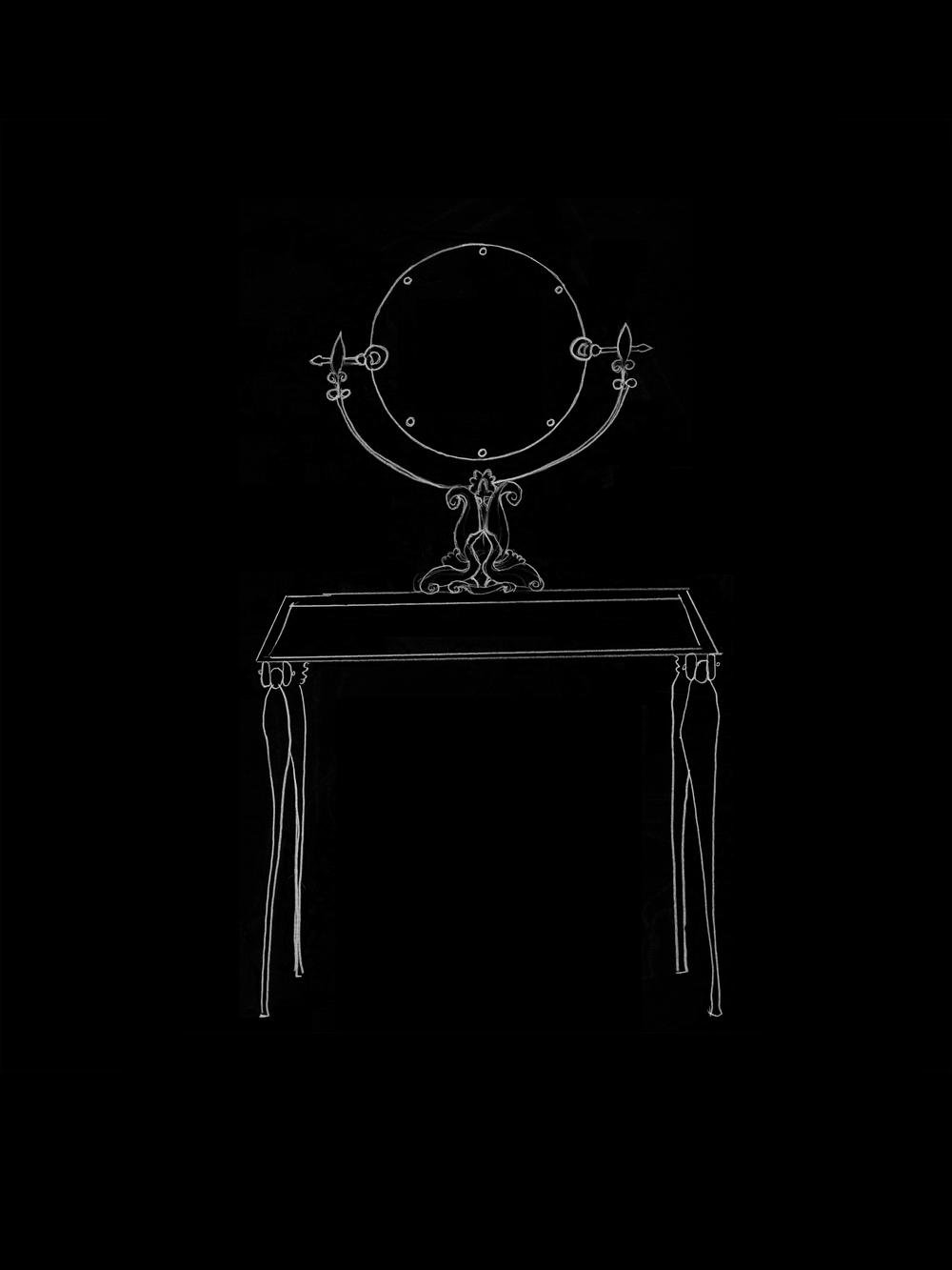 Vanity 1 (after Armand Albert Rateau)