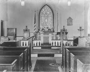 Chapel - 1948 (note gated booths)
