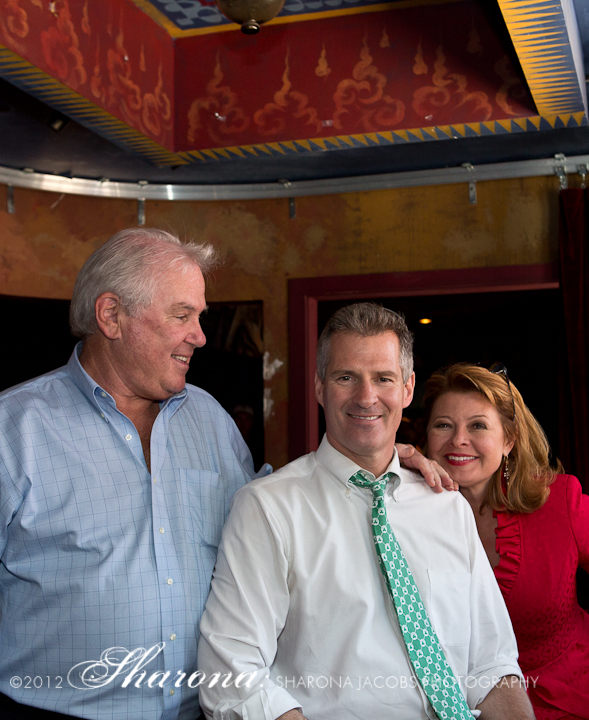 Joe O'Donnell, Senator Scott Brown, Gail Huff