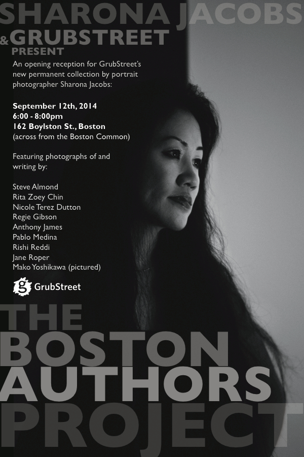 Boston Authors Project Announcement