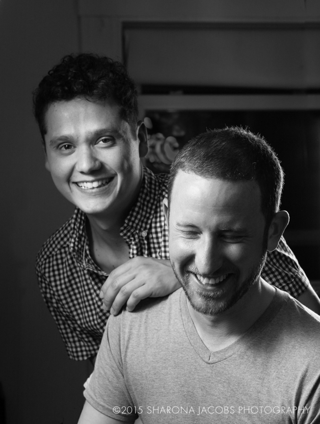 Manuel and Joseph, Pride Portrait Project, BNY Mellon and PFLAG