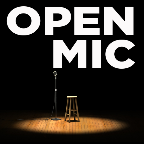 Join us for our Open Mic Night! Share some poetry, music, stand up comedy, or other feat of creativity. Hosted by our very own Jake Wichman, we are proud to bring you a safe space to share what is stirring in you creatively. NOTE: Sign Ups start at 6:30pm but they go fast. Consider showing up 45 minutes before sign ups to get in line.
