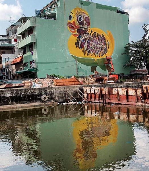 Nychos in Bangkok by Martha Cooper