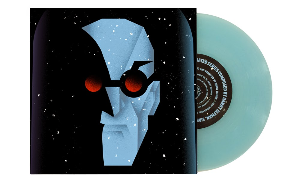 "San Diego Comic-Con 2014 Exclusive Batman The Animated Series 7"" Singles by Danny Elfman & Mondo - Mr. Freeze by Alan Hynes.jpg"