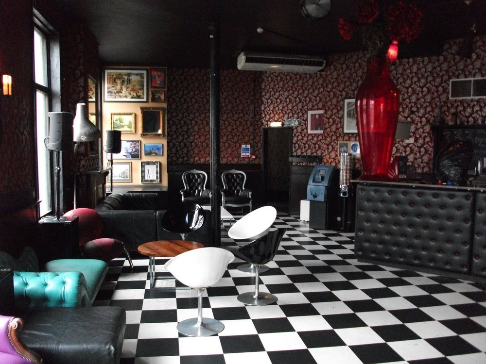 The classic Mother Bar interior