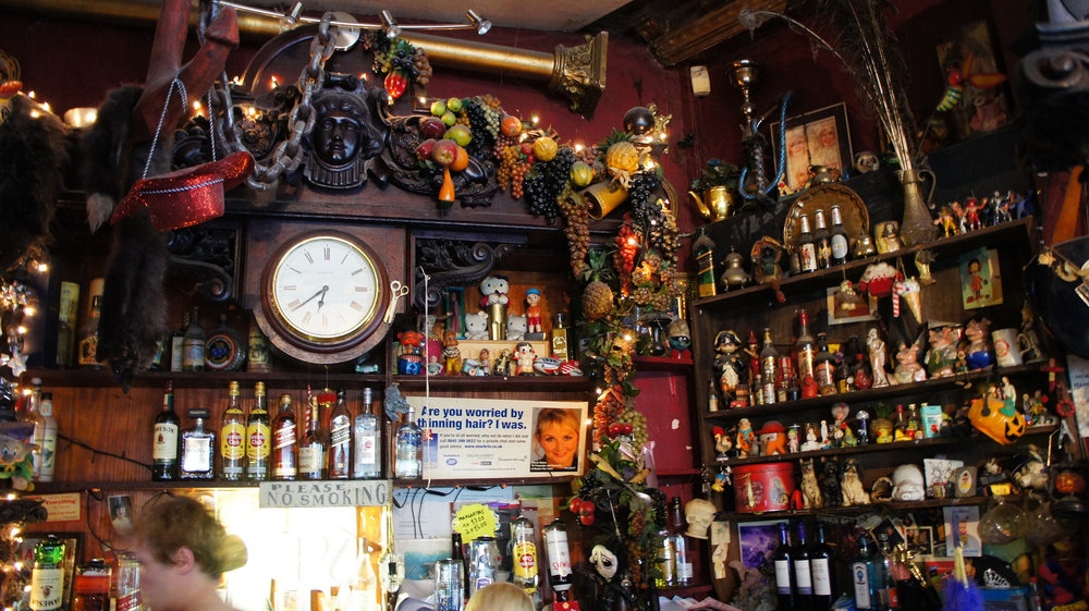 Picture of the great George and Dragon interior by Rosa G . That electronic horse head not included unfortunately...
