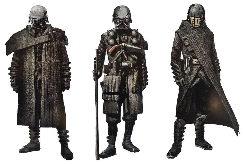 Cool Knights of Ren concept art