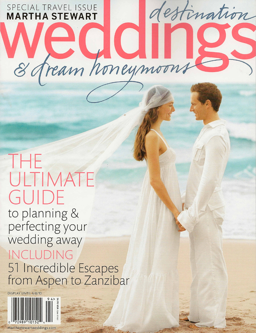 Justine M Couture editorial - Martha Stewart Destination Weddings