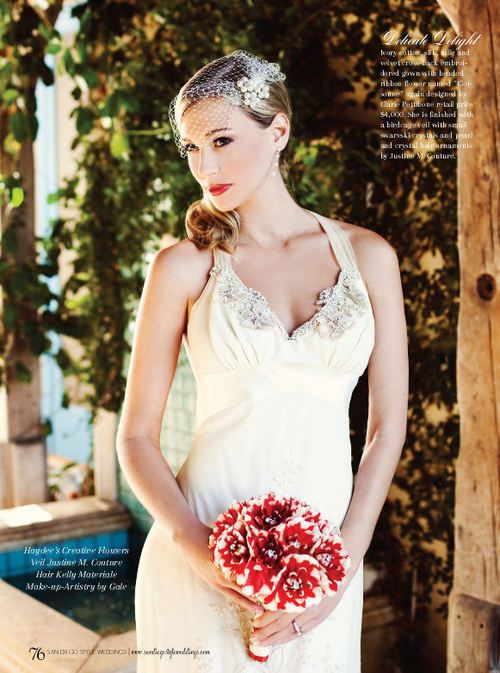 Justine M Couture editorial - San Diego Style Magazine