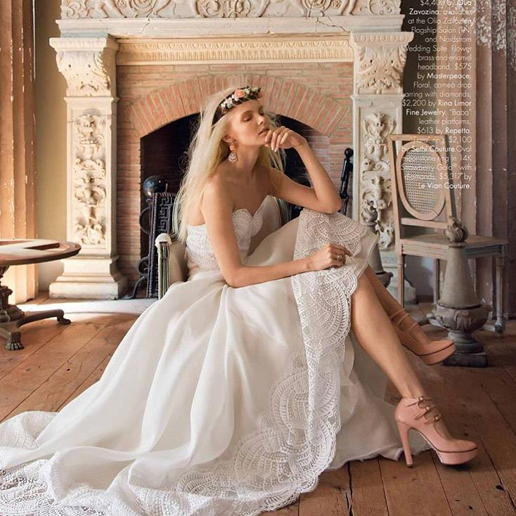 Olia Zavozina Inside Weddings editorial