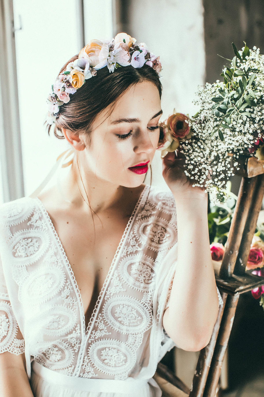 Flowercrown in Pastelltönen│We Are Flowergirls│Miss Rose