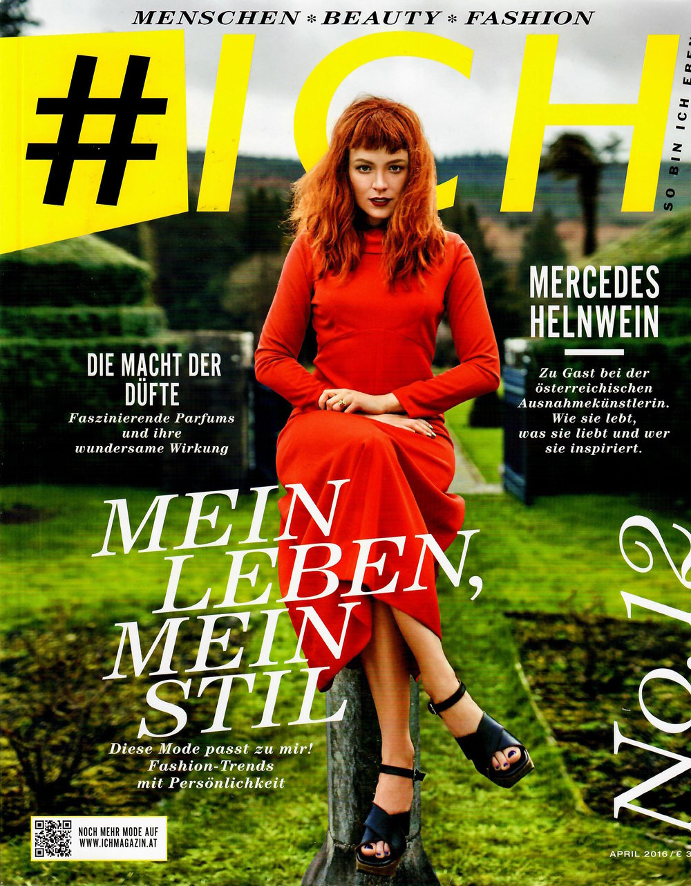 ICH Menschen Beauty Fashion, April 2016