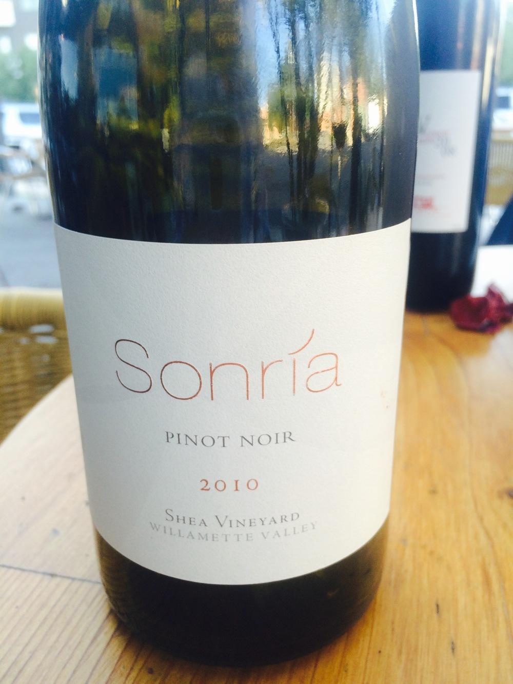 Sonria 2010 Pino Noir