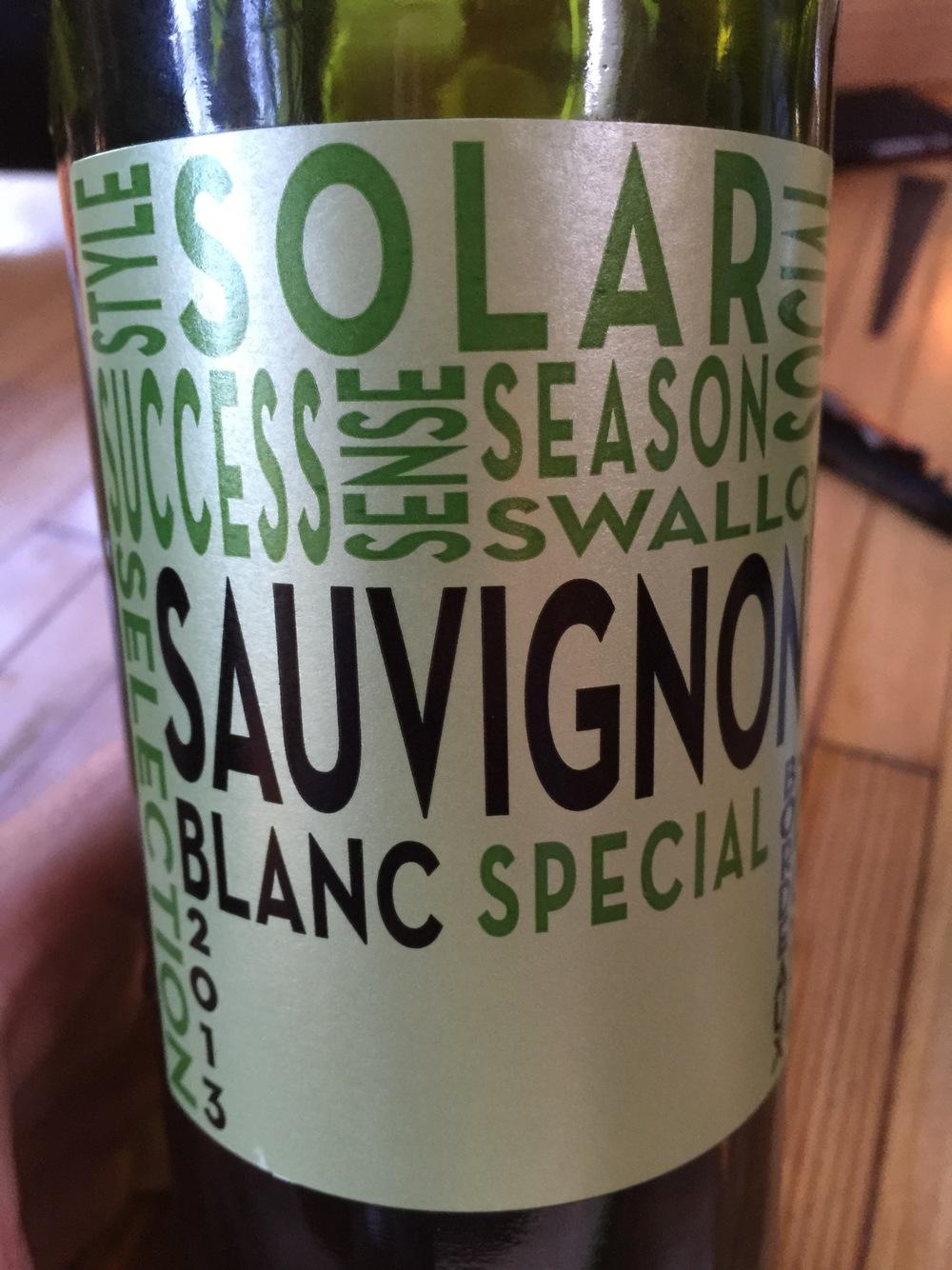 2013 Solar SauvignonBlanc, Bordeaux AOC