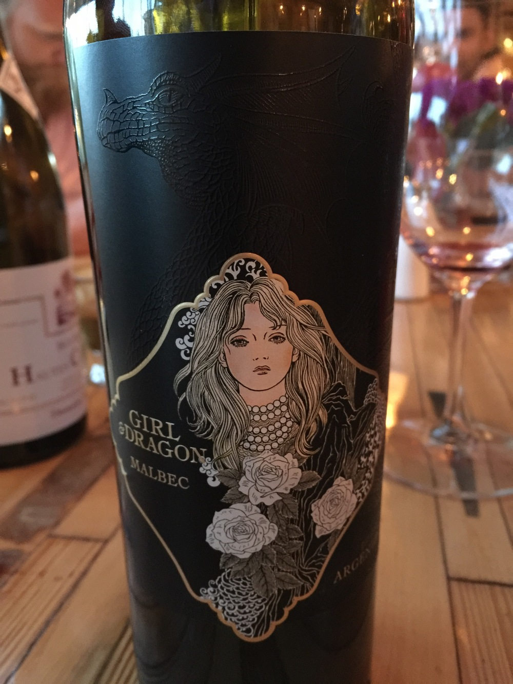 2014 Dragon Girl Malbec, Mendoza