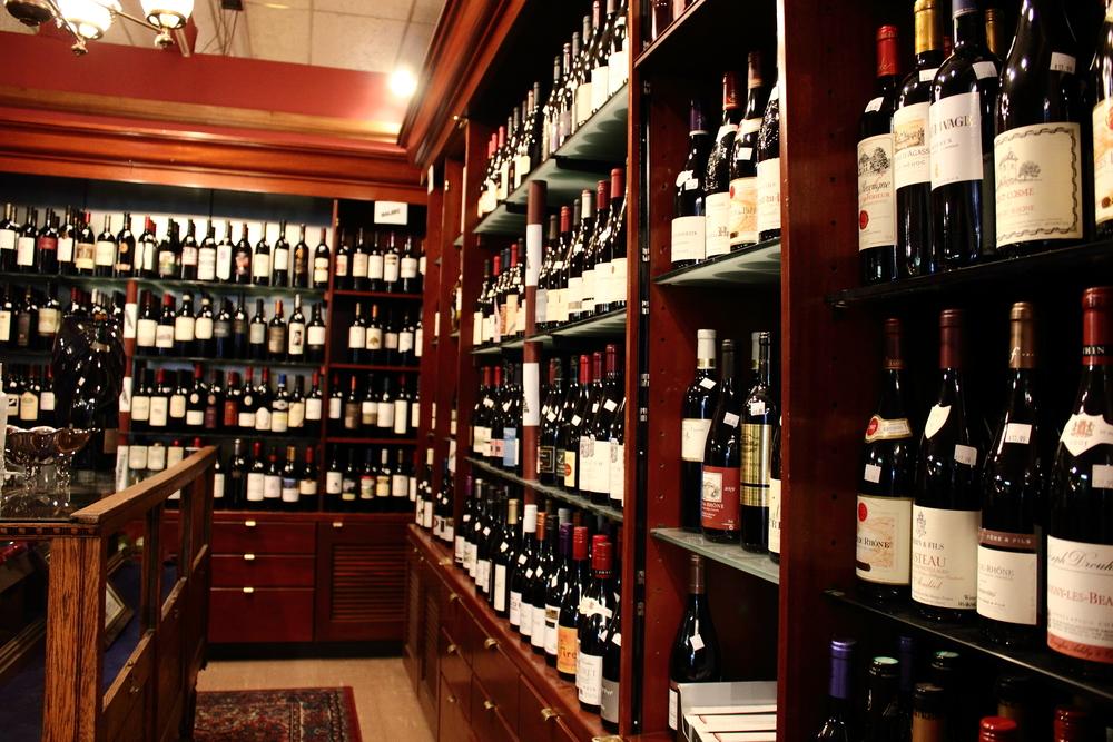 Wine Shop | DWC | Robert's Antiques & Wine