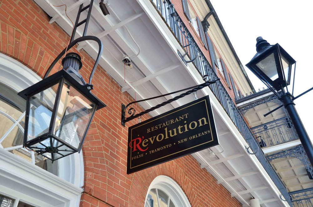 DWC | Restaurant R'evolution | New Orleans | Dallas Wine Club