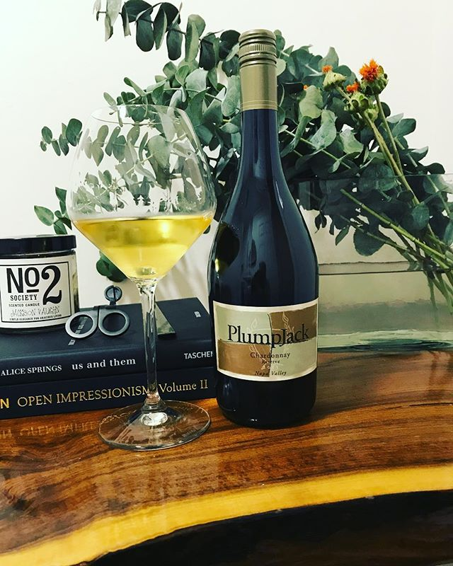 Chardonnay day! @plumpjackestate #chardonnay