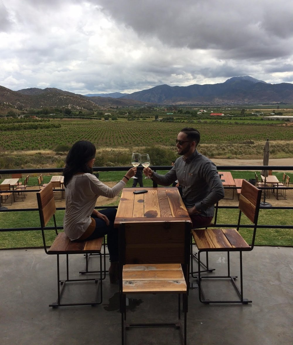 Let us plan your special getaway... an engagement, your anniversary, birthday, or just a memorable escape to Mexico's wine country.