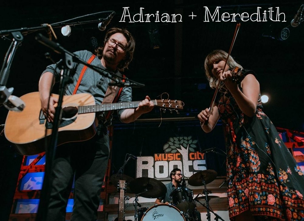 Always been ones to march to their own drum, Adrian + Meredith make a different sort of roots racket. More Than A Little, finds the pair's debut putting its own spin on Americana music, roughing up the genre's edges with the rule-breaking spirit of punk, the vintage twang of old-timey folk, the sneer of rock & roll, and even the frenetic bounce of early Swing and jazz manouche.