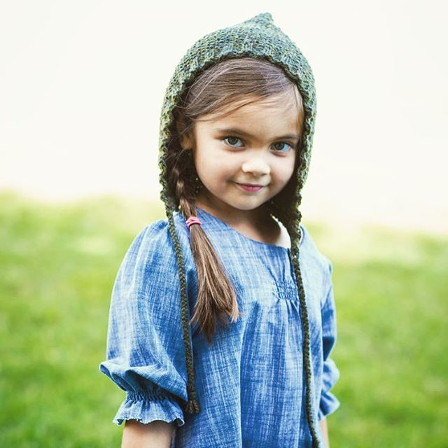 soo ready to knit up some more hats and sweaters this season! #tbt to @fashionsparkcon 2015 collection, Pioneer. Beautiful photo by @627_photography  #hat #fall #winter #knit #denim #usa #kidsfashion #little #sew #style #cotton #thinkanddo #ncsu