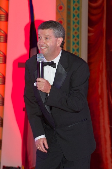 Emcee and Awards Show Host Dave Fleming