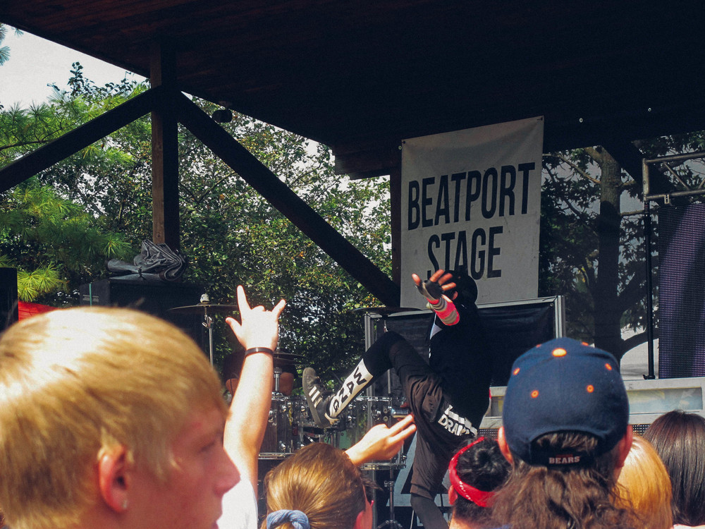 Drama Club was the first band to play on the Beatport Stage.