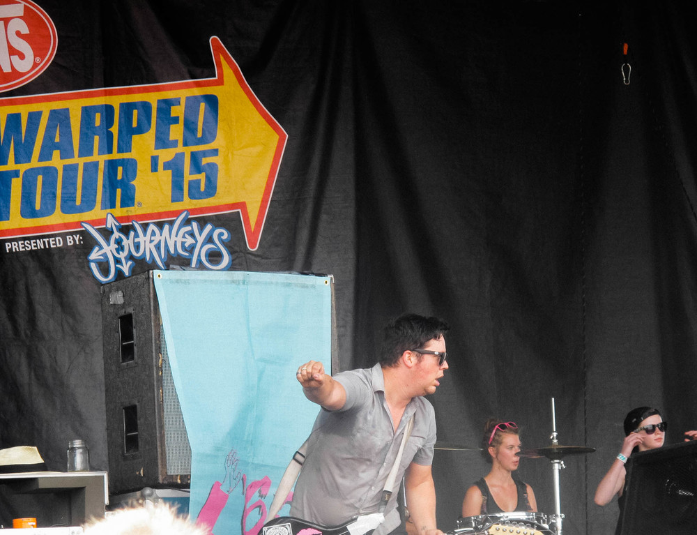 """'68, a band from Atlanta, GA, recently debuted their first album titled """"Humor and Sadness."""" This year was their first appearance at Warped Tour."""