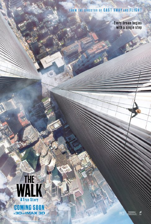 Official movie poster for The Walk