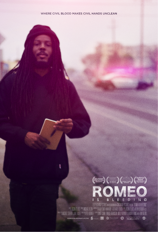 Poster designed by Matt Mason, image courtesy of Romeoisbleeding.com