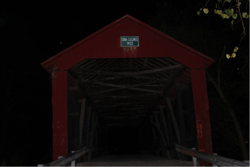 """Haunted"" Edna Collings Bridge"