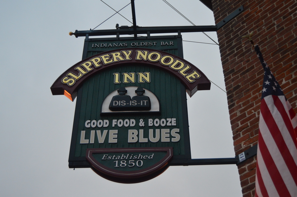 Since 1850. the Slippery Noodle Inn has served many people and purposes.