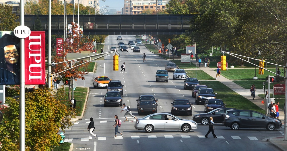 West Street, image provided by IUPUI