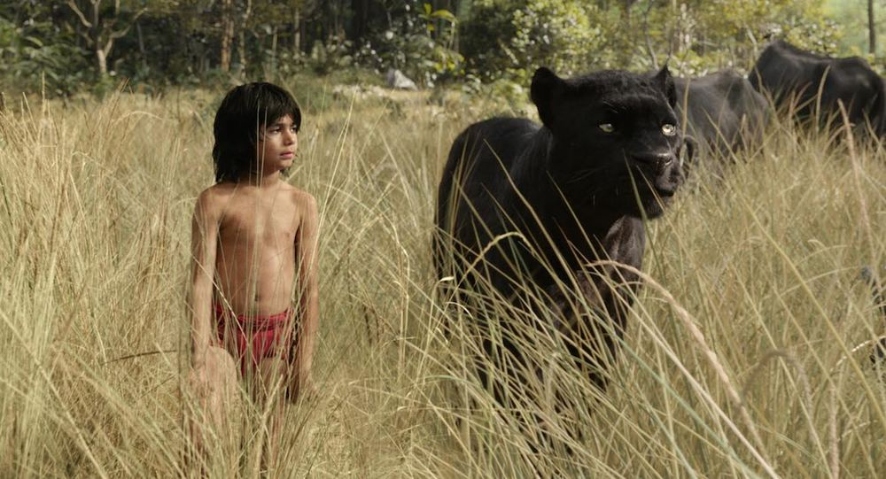 Photo courtesy of Disney.com: Mowgli and Bagheera