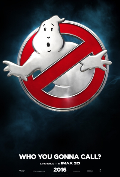 """""""Ghostbusters"""" theatrical poster courtesy of Columbia Pictures"""