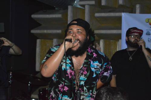 Oreo Jones performing with Ghost Gun Summer last year, photo by David Schroeder