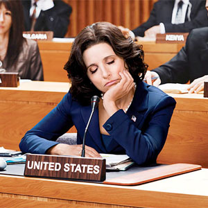 Julia Louis-Dreyfus as Sen. Selina Meyers in Veep. (photo courtesy of HBO)