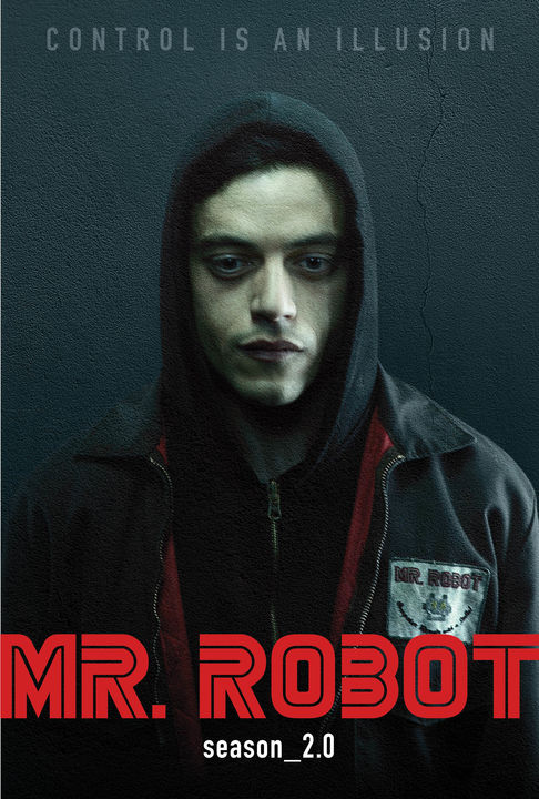"""Mr. Robot"" season two poster. (photo courtesy of USA Network)"