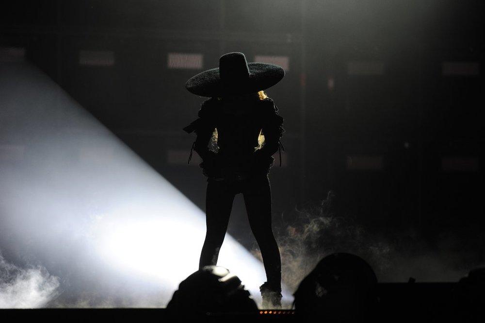 Beyoncétakes the Nashville stage. (Photo courtesy of Beyonce.com)