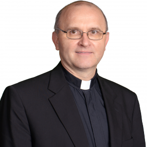 Rev. Lampert, photo provided by St. Malachy