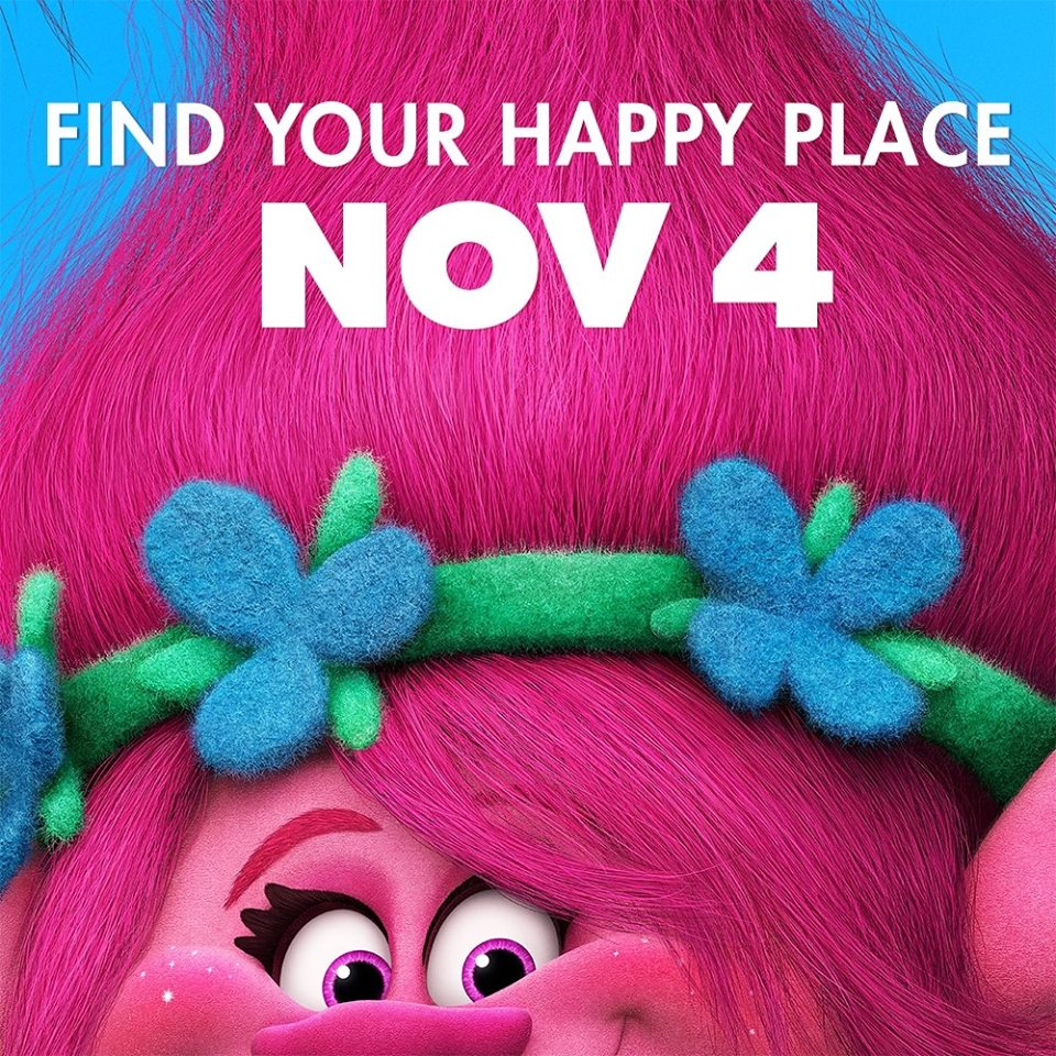 "Promotional poster for ""Trolls."" (Photo from Trolls Facebook page.)"