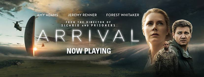 """From the """"Arrival"""" Facebook page."""