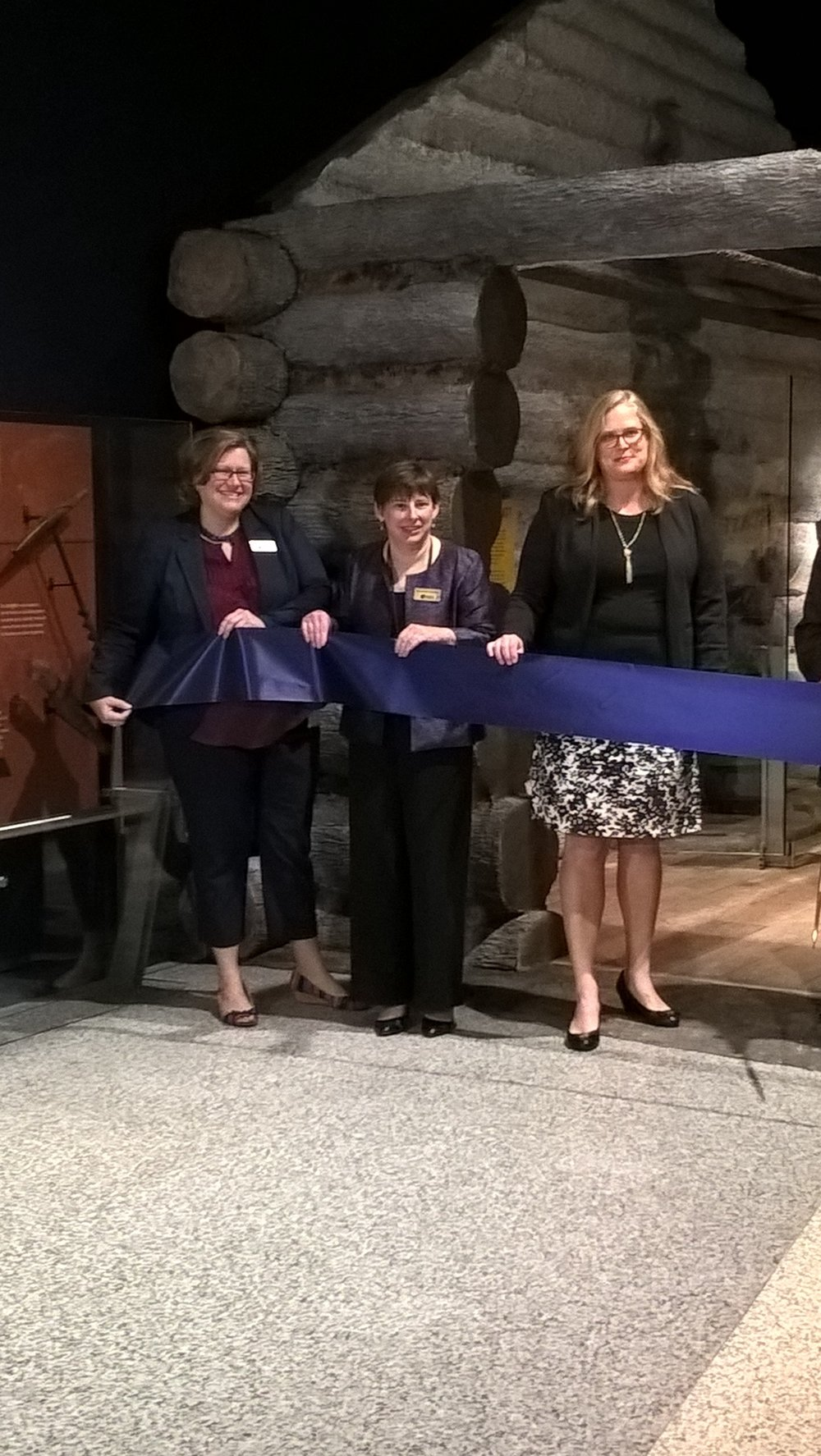 The Indiana State Museum kicked off their INVision Campaign Nov. 2 with press and stakeholder previews of the three revamped core galleries.