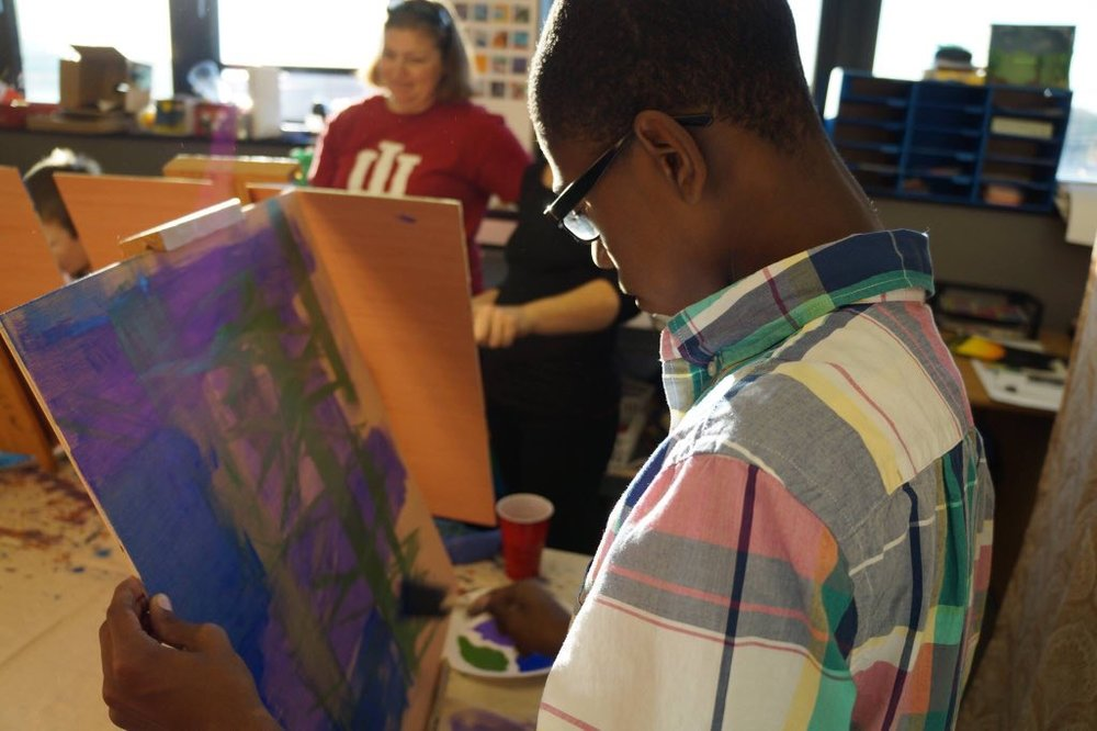 Re-Generation Indy celebrates the creativity of youth by encouraging children to pursue art.